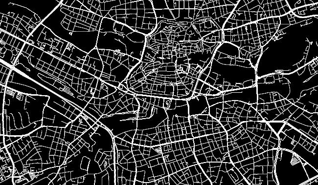Lageplan Ebene - Grenzen