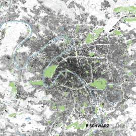 Lageplan von Paris