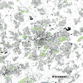 Lageplan von Dortmund