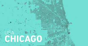 Site plan of Chicago