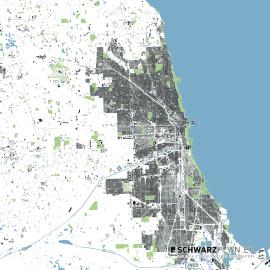 Chicago Lageplan zum Download als PDF