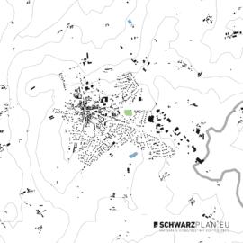 Lageplan von Broons in Frankreich